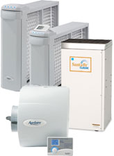 Air Cleaners, Humidifiers, Dehumidifiers